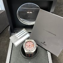 Hublot Big Bang Ferrari pre-owned 45mm Transparent Chronograph Rubber
