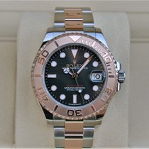 Rolex Yacht-Master 37 Gold/Steel 37mm Black No numerals United States of America, New York, New York