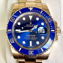 Rolex Submariner Date 116618LB Good Yellow gold 40mm Automatic