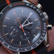 Omega Speedmaster Professional Moonwatch Steel 42mm Black No numerals