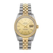 Rolex Datejust Gold/Steel 36mm Champagne No numerals United States of America, Pennsylvania, Bala Cynwyd