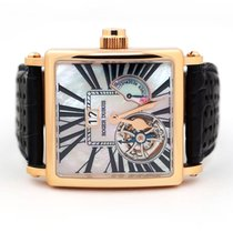 Roger Dubuis Golden Square Rose gold 40mm Mother of pearl Roman numerals United States of America, Florida, Aventura