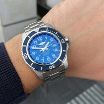 Breitling Steel Automatic Blue Arabic numerals 42mm new Superocean II 44
