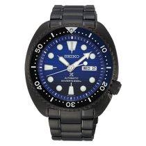 Seiko Prospex Steel 45mmmm Blue No numerals