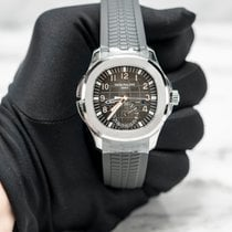 Patek Philippe new Automatic Display back Central seconds Luminous hands Luminous indices 40.8mm Steel Sapphire crystal