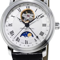 Frederique Constant Classics Moonphase new Automatic Watch with original box and original papers 335MC4P6