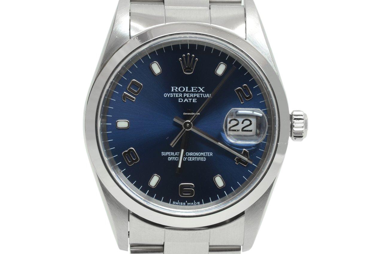 Rolex Oyster Perpetual Date 15200 1997 подержанные