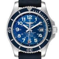 Breitling Superocean II 42 Steel 42mm Blue Arabic numerals United States of America, Georgia, Atlanta