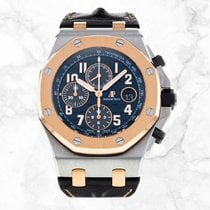 Audemars Piguet Royal Oak Offshore Chronograph Steel 42mm Blue Arabic numerals