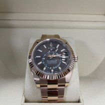 Rolex Sky-Dweller Rose gold 42mm Brown Roman numerals United Kingdom, Stratford Upon Avon