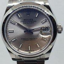 Rolex Lady-Datejust Steel 31mm Grey No numerals