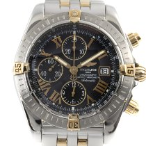 Breitling Chronomat Evolution Acero y oro 43mm Negro