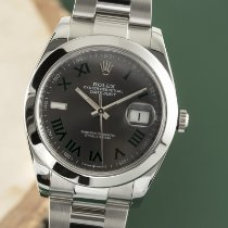 Rolex Datejust Stål 41mm Grå