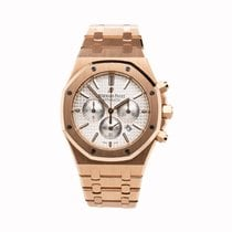 Audemars Piguet 26320OR.OO.1220OR.02 Rose gold 2016 Royal Oak Chronograph 41mm pre-owned