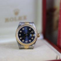 Rolex Lady-Datejust occasion 26mm Bleu Date Or/Acier