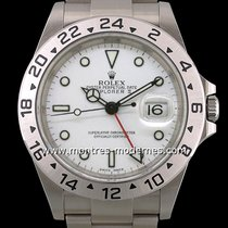Rolex Explorer II Acier 40mm Blanc France, Paris