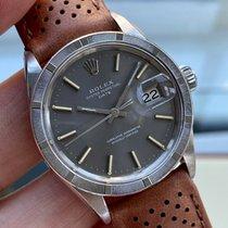 Rolex Oyster Perpetual Date Steel 34.5mm Grey United Kingdom, Norwich