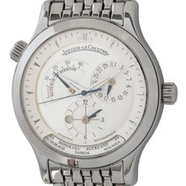 Jaeger-LeCoultre Master Geographic Steel 38mm Silver United States of America, Texas, Austin