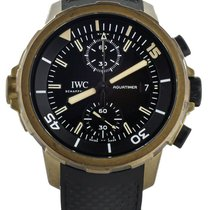 IWC Automatic Black 44mm pre-owned Aquatimer Chronograph