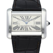 Cartier Tank Divan Steel 39mm White United States of America, New York, New York
