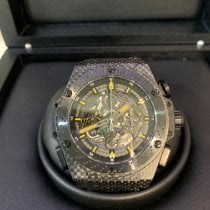 Hublot King Power Carbon 48mm Black No numerals