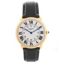 Cartier Yellow gold Manual winding 33mm pre-owned Ronde Louis Cartier