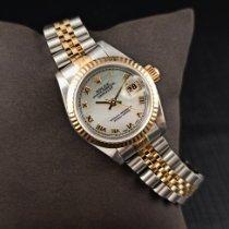 Rolex 69173 Zlato/Ocel 1998 Lady-Datejust 26mm použité
