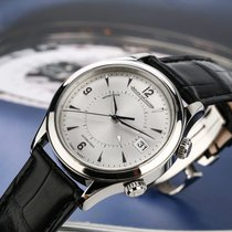 Jaeger-LeCoultre Master Memovox Steel 40mm Silver Arabic numerals