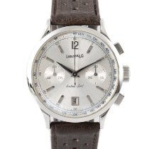 Eberhard & Co. Extra-Fort Steel 39mm Silver