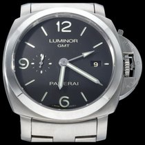 Panerai Luminor 1950 3 Days GMT Automatic Acier 44mm Noir Arabes Belgique, Brussel