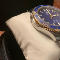 TAG Heuer Aquaracer 500M Gold/Steel 41mm Blue No numerals United States of America, Florida, Ave Maria