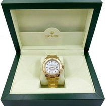 Rolex Yellow gold Automatic 40mm pre-owned Yacht-Master