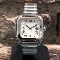 Cartier Santos (submodel) Stahl Silber Römisch Deutschland, Köln
