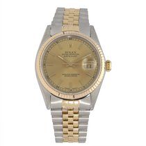 Rolex Datejust Goed Goud/Staal 36mm