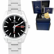 Seiko Grand Seiko Steel 40mm Black United States of America, New York, Massapequa Park