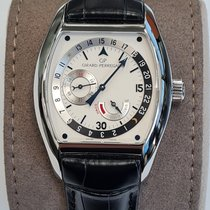 Girard Perregaux Richeville Steel 37mm Silver Arabic numerals