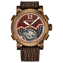 Stuhrling Steel 44mm Manual winding SKU new United States of America, Florida, Sarasota