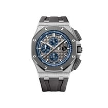 Audemars Piguet Royal Oak Offshore Chronograph Titan 44mm Grå Ingen tall