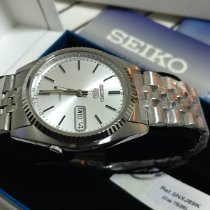 Seiko new Automatic Luminous numerals Luminous hands Luminous indices 37mm Steel Mineral Glass
