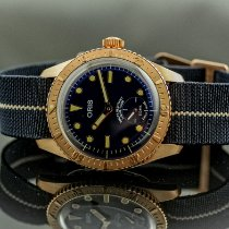 Oris Carl Brashear Bronze 40mm Blue No numerals United States of America, New York, Buffalo