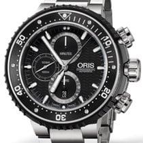 Oris ProDiver Chronograph Titanium 51mm Black No numerals
