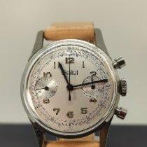 Gallet Stahl 35mm Handaufzug Gallet MultiChron 45 Chronograph Valjoux 7733 gebraucht