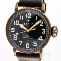 Zenith Pilot Type 20 Extra Special Bronce 45mm Negro Arábigos