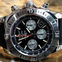 Breitling Chronomat 44 Airborne Steel 44mm Black No numerals