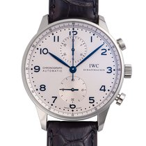 IWC Portuguese Chronograph Steel 41mm Silver
