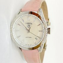 TAG Heuer Carrera Lady Steel 36mm Mother of pearl No numerals United States of America, New York, New York