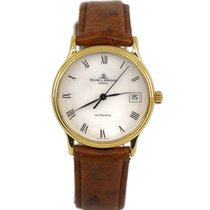 Baume & Mercier Yellow gold White 33mm pre-owned Classima