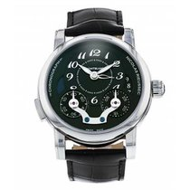 Montblanc new Automatic Display back Small seconds Quick Set 46mm Steel Sapphire crystal