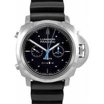 Panerai Luminor 1950 Rattrapante 8 Days nuevo 2020 Cuerda manual Reloj con estuche y documentos originales PAM00530
