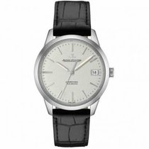 Jaeger-LeCoultre Geophysic True Second Acero 40mm Plata Sin cifras